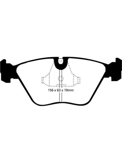 1 x EBC Brake Pads - Performance (DP4689R)