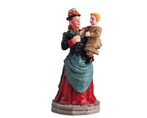LEMAX VILLAGE MOTHER AND CHILD -  ITEM # 52053 NIP - RETIRED