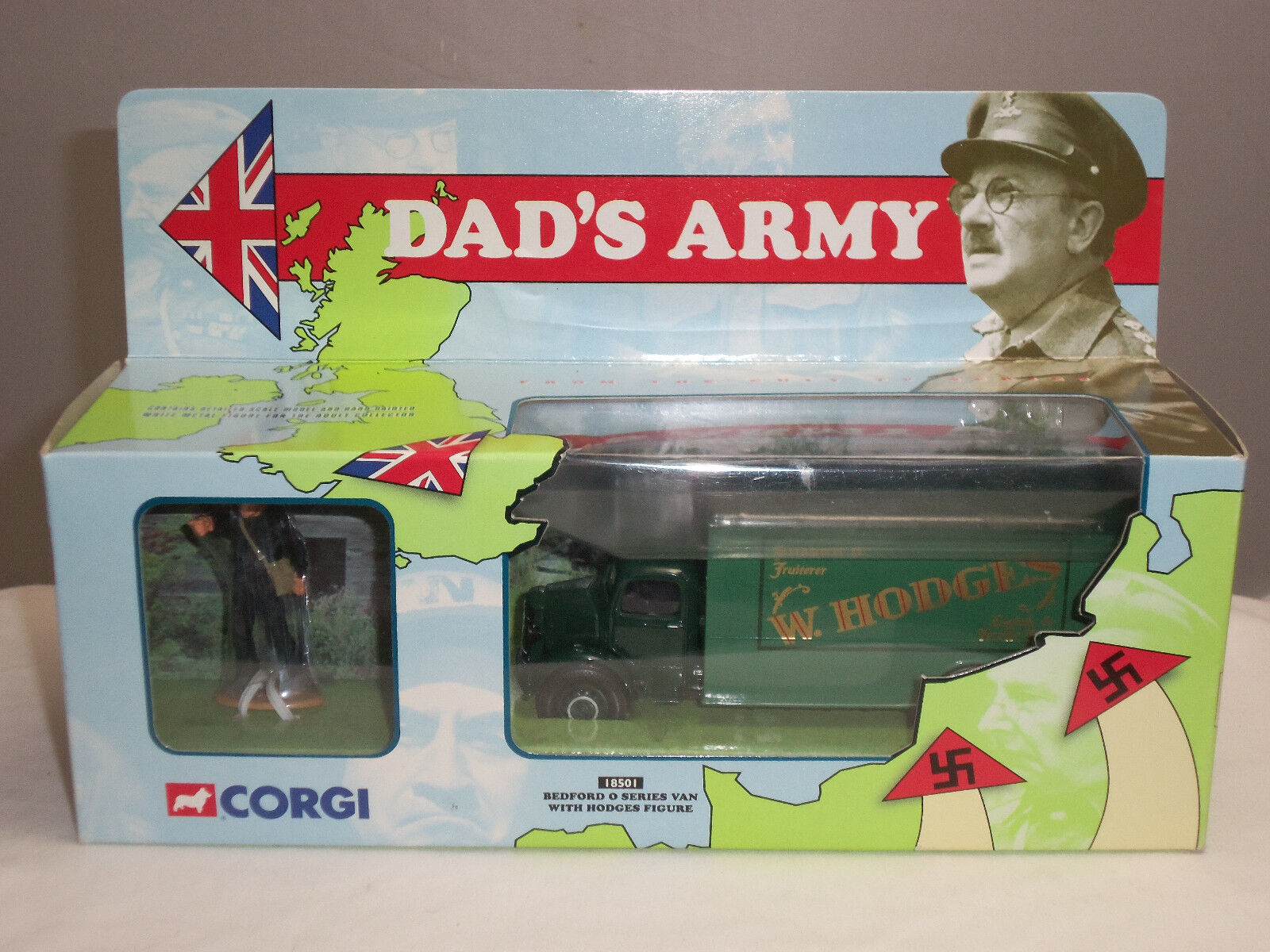 Corgi 18501 Pappa, min TV -serie dör, Beeford O SERIES VAN HODGES FIGURE