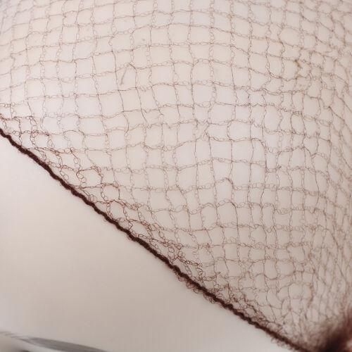 50//100Pcs ballet dance elastic invisible hair nets bun cover stretch net wig   T