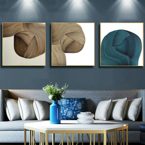 Nordic Abstract Luxury Canvas Print Poster Picture Home Wall Hanging Art Decor