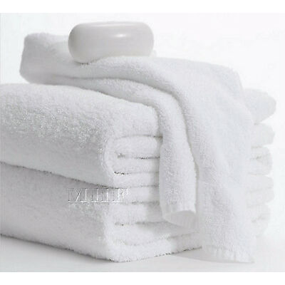 Bath Towels-MHF Brand-24x48 inches-White- 8.25 Lbs -100% Cotton