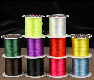 NEW-10M-1-Roll-DIY-Elastic-Line-Craft-Wire-Thread-For-Jewelry-Making-Bead-String