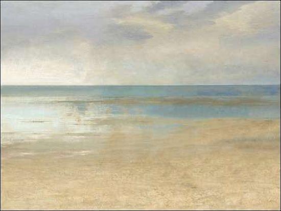 Christy McKee  Pastel Seascape III Keilrahmen-Bild Leinwand Meer Horizont Weite