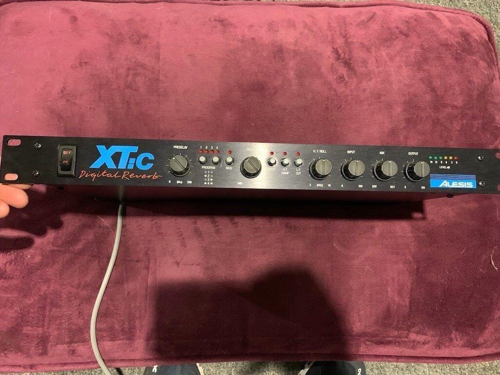 Alesis Xtic Xtic Xtic Reverb Digital Vintage Década de 1980  hasta un 60% de descuento
