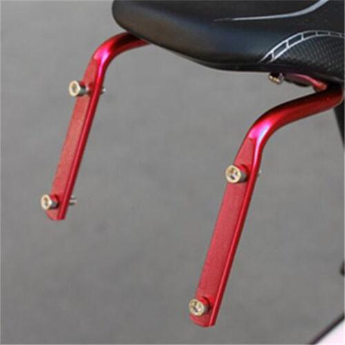 Fahrrad Radfahren Sattelstütze Zurück Doppel Flaschenhalter Käfig Rack AdapterZP