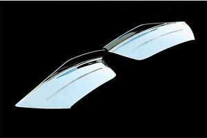 Sebelscheinwerfer-Abdeckung-Platine-NSW-Blenden-Rahmen-CHROM-fuer-KIA-RIO-2
