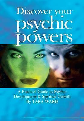 """""""AS NEW"""" Discover Your Psychic Powers, Tara Ward, Book"""