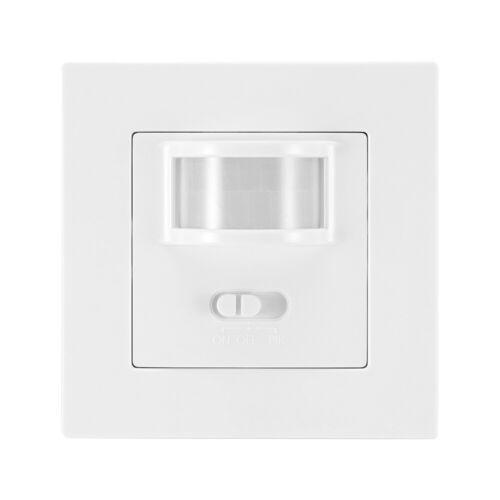 LED Sensor Schalter Infrarot Lichtschalter PIR-Bewegungsmelder Unterputz Wand