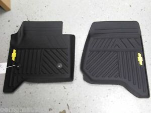 New Oem 2014 15 Chevrolet Silverado Front All Weather
