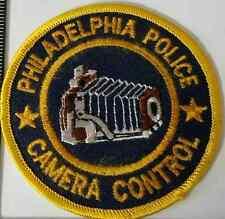 Philadelphia Police Camera Control Cloth Patch