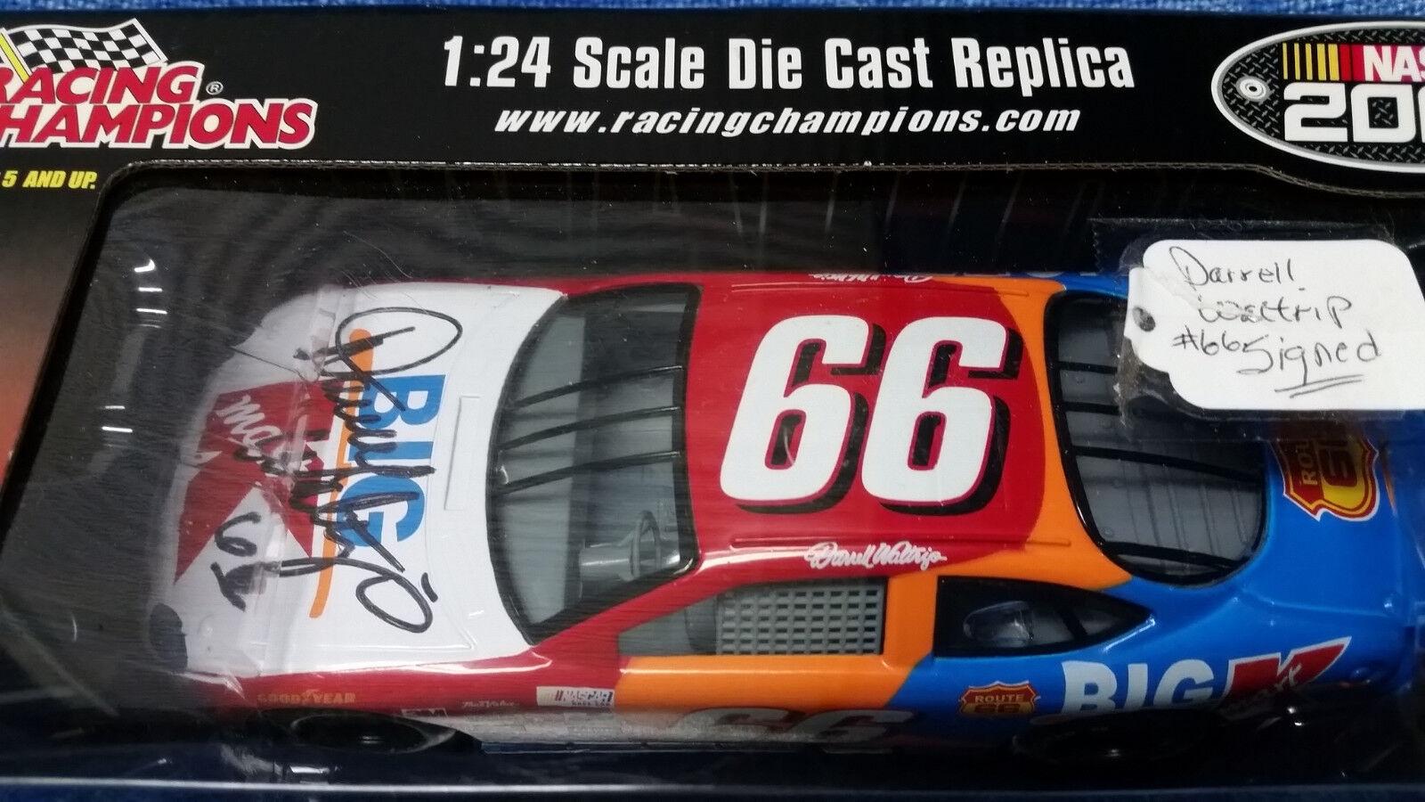 Racing Champions 1 24 Darrell Waltrip Big K-Mart Nascar 2000 firmado