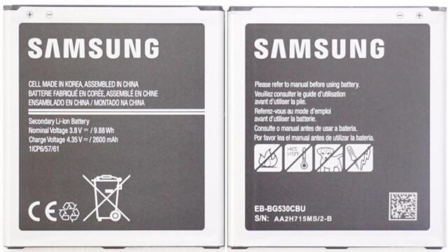 NEW OEM Samsung EB-BG530CBU EB-BG530CBZ Galaxy Grand Prime SM-G530 Battery