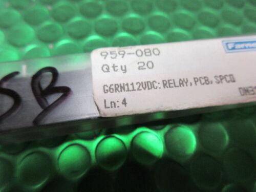 G6RN-1-12VDC G6RN-1-DC12 Relé SPDT; Ucoil 12VDC; 8A//250VAC; 5A//30VDC