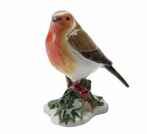John-Beswick-JBMB5-Robin-Mini-Bird-Figurine-NEW-in-Gift-Box-21075