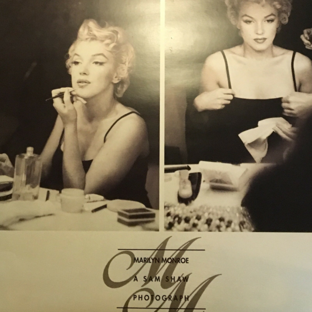 Plakat. / photo, Sam shaw, motiv: Marilyn monroe, Retro…