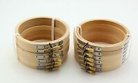 Lot 4 Inch Small Round Wooden Embroidery Hoops Bulk Wholesale 12 Pieces