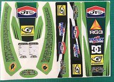 universal sticker kit swinging arm mud guard yamaha Kx Kxf Lt jt mx laminated