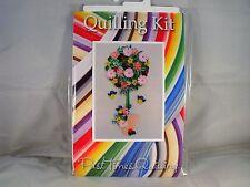 COMPLETE Quilling Kit con Strumento + carta + istruzioni BAY TREE PRIMAVERA KD 12