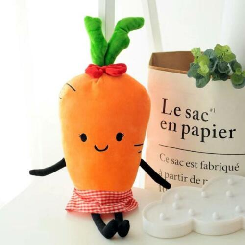 1Pc Creative Cute Cartoon Carrot  Pillow Doll Children Plush Toy Birthday Gift