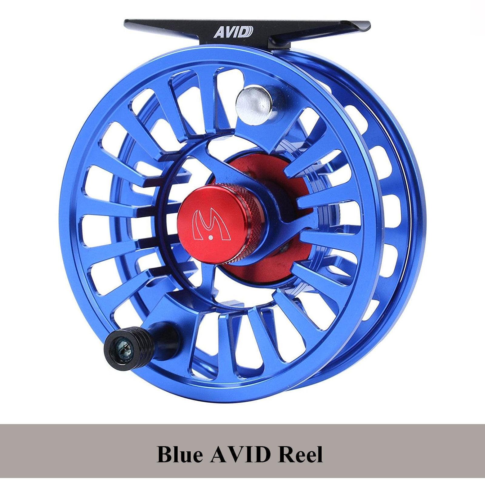 Maxcatch FLY FISHING REEL 1/3 3/4 7/8 5/6 7/8 3/4 9/10WT CNC Alluminio Lavorato Avid e9a2d7