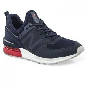new product 7d2bf a9a63 Details about NEW BALANCE MS574SCO 574S SYNTHETIC/MESH Mn's (M) Navy Size 10