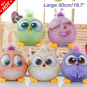 Details About Angry Cute Birds Plush Hatchlings Toy Funny Cartoon Stuffed Kids Gift 50cm 19 7