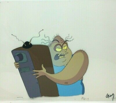 Beetlejuice Original Production Animation Cel Drawing Ebay