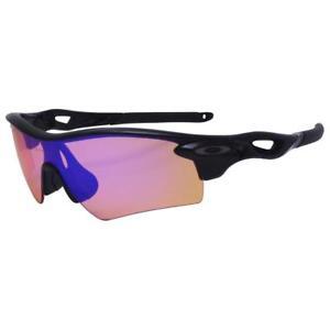 b9752cf75 Oakley Custom RADARLOCK PATH Black w/ Blue Iridium Lens Mens Sports ...