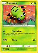 Pokemon 4X CHINCHOU 49//168 COMMON NM CARD   CELESTIAL STORM