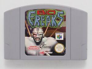 Bio Freaks for Nintendo 64 N64 PAL *100% GENUINE* CART ONLY