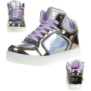 Details about Skechers S Lights: Energy Lights Shiny LED Sneakers Trainers Flashing Shoes