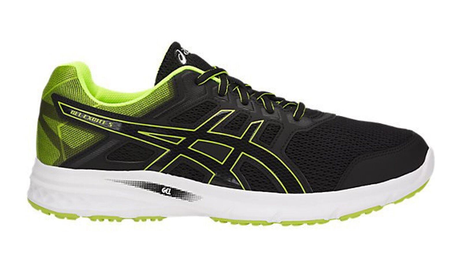 ASICS MENS RUNNING SHOES GEL-EXCITE 5 SIZE 8-12 blueE BLACK T7F3N