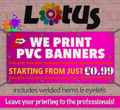 PVC BannerCustom SizePrinted Outdoor Heavy Duty BannersAdvertising