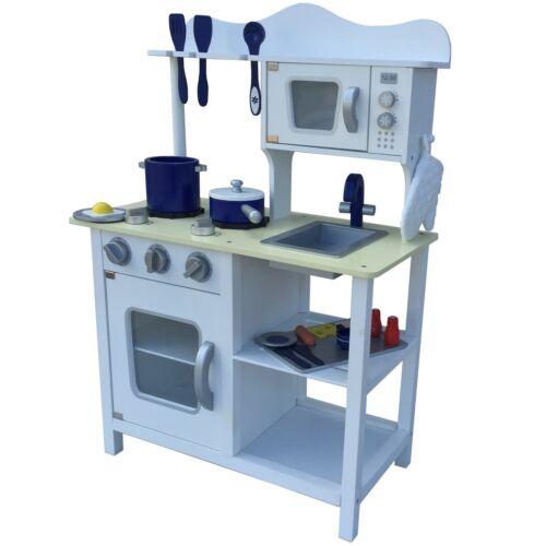 Cuisine pour enfant en bois jeu d/'enfant cuisine jeu cuisine jouets cuisine casseroles NEUF