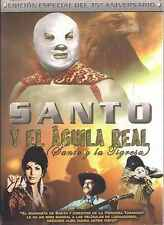 DVD - Santo Y El Aguila Real Santo Y La Tigersa NEW FAST SHIPPING !