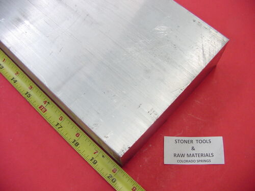 2 X 6 ALUMINUM 6061 FLAT BAR 20 long SOLID T6511 2.00 Plate Mill Stock