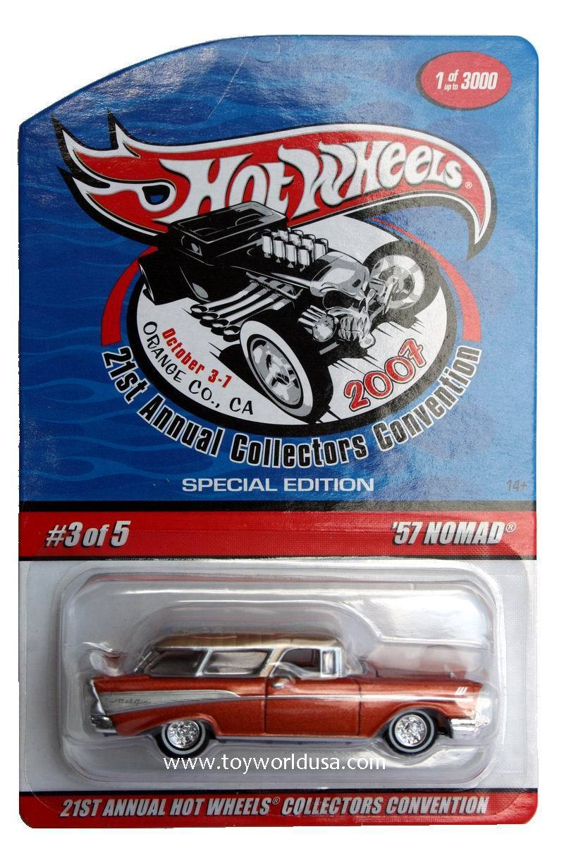 2007 Hot Wheels Annual Collectors Convention '57 Nomad Special Edition OF5