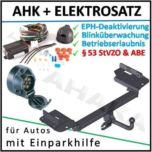AHK ES-7 KIA Sportage 04-10 Anhängerkupplung DPC EPH-Deaktivierung Einparkhilfe