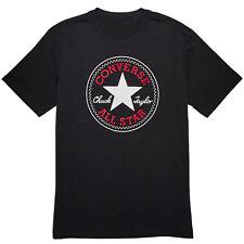 b5e8a1068b59 Converse Core Chuck Patch T-Shirt Ladies short Sleeves Top Leisure Crew Neck