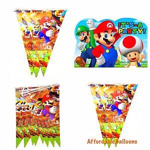 10-X-Super-Mario-Party-Flags-Banner-Super-Mario-Party-Decorations