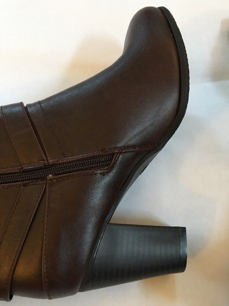 ae96056293e Maurices Vienna Heeled Boot. Brown Brown Brown color. Size 8 NEW In ...