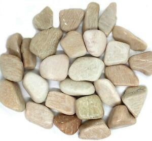 Natural-Tumbled-Feldspar-Quartz-Crystal-Polished-Stone-1-2-lb-lot-from-Brazil