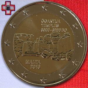 Details Zu 2 Euro Münze Gedenkmünze Coin Malta ġgantija Unzunc Bis Bust 2016 Aus Rolle