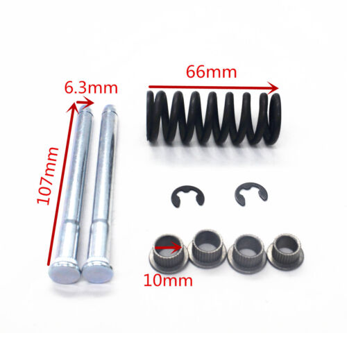 Car Front /& Rear Door Hinge Pin with Spring and Bushing Kit For Chevrolet S10//15
