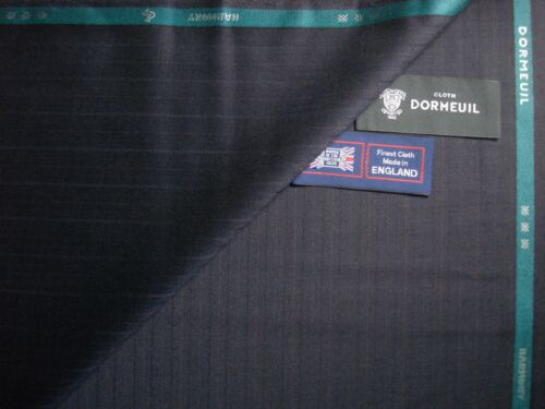 """3.4 m. MADE IN ENGLAND DORMEUIL 100/% SUPERFINE WOOL SUITING """"HARMONY"""" FABRIC"""