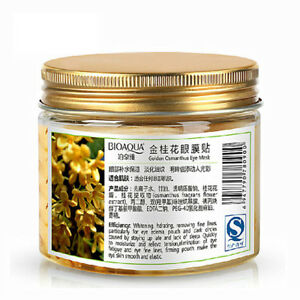 80pcs-bottle-Face-Care-Gold-Osmanthus-eye-mask-Collagen-gel-whey-protein-NP2