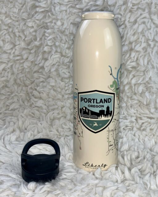 4x Lot Liberty Bottleworks 24oz Metal Aluminum Water Bottle /& Cap BPA Free USA