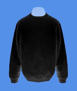 Pullover-Mann-Maenner-Sweatshirt-Herren-Pulli-move2be-schwarz-unifarben-S-XXL-B-amp-C