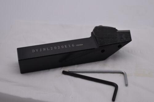 DVJNL2020K16 20×20×125mm 91° HOLDER Outside turning  For VNMG160404//08//12 INSERT